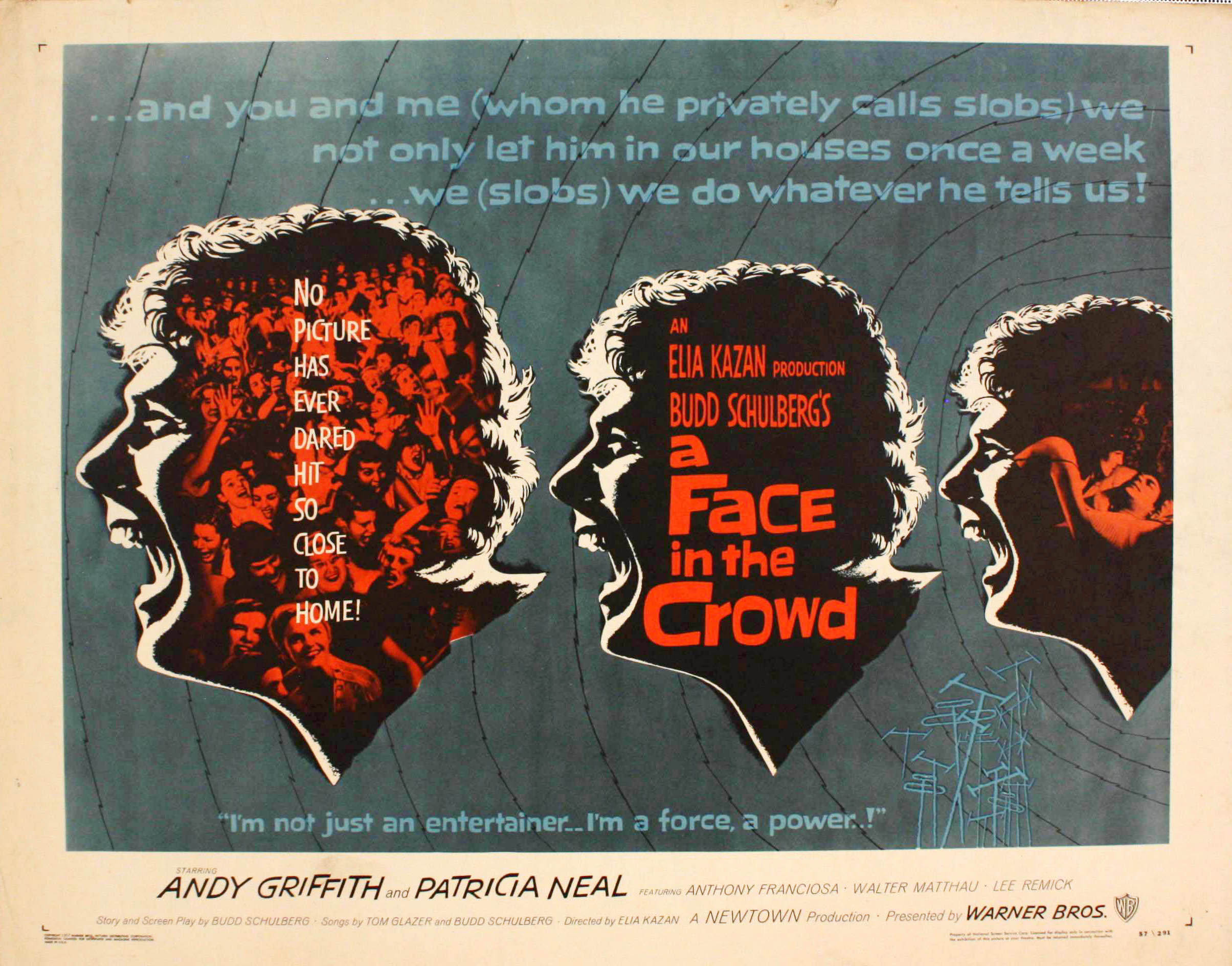 A Face In The Crowd 1957 Flashbak