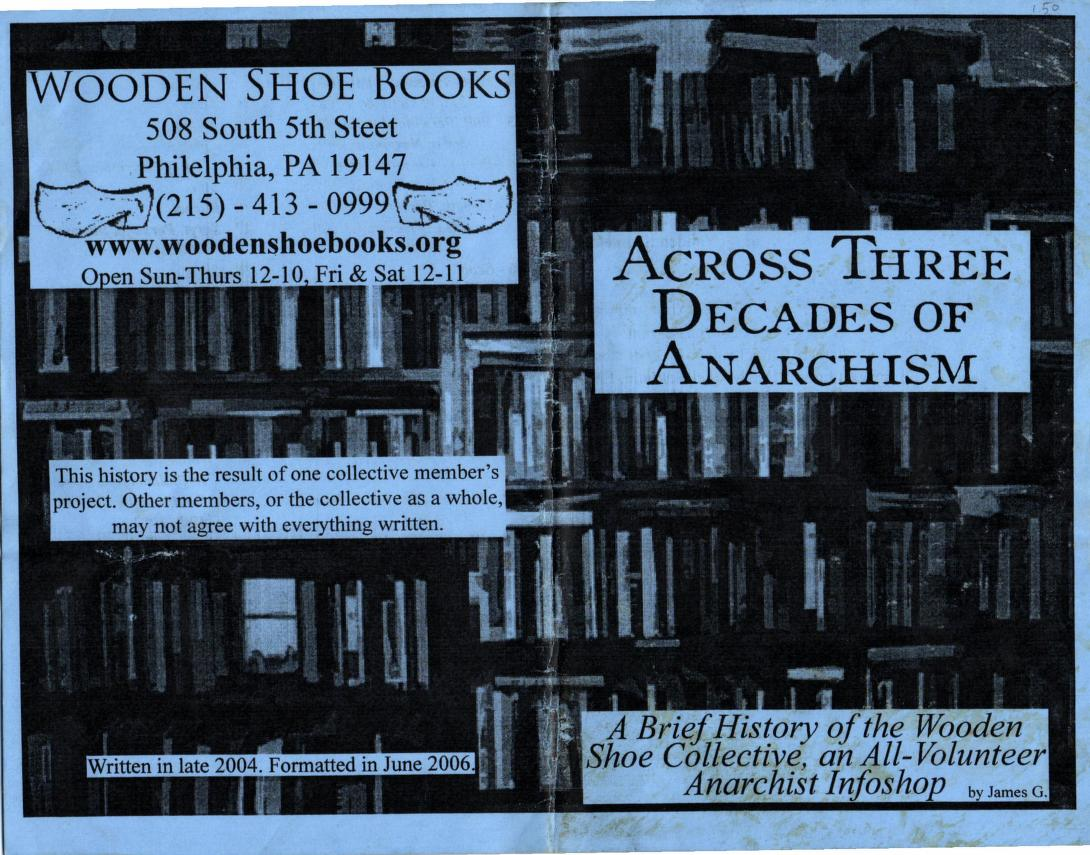 Across Three Decades of Anarchism zine
