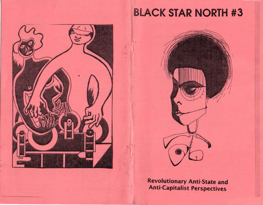 Black Start North #3 zine