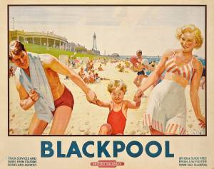 Blackpool 1949 poster