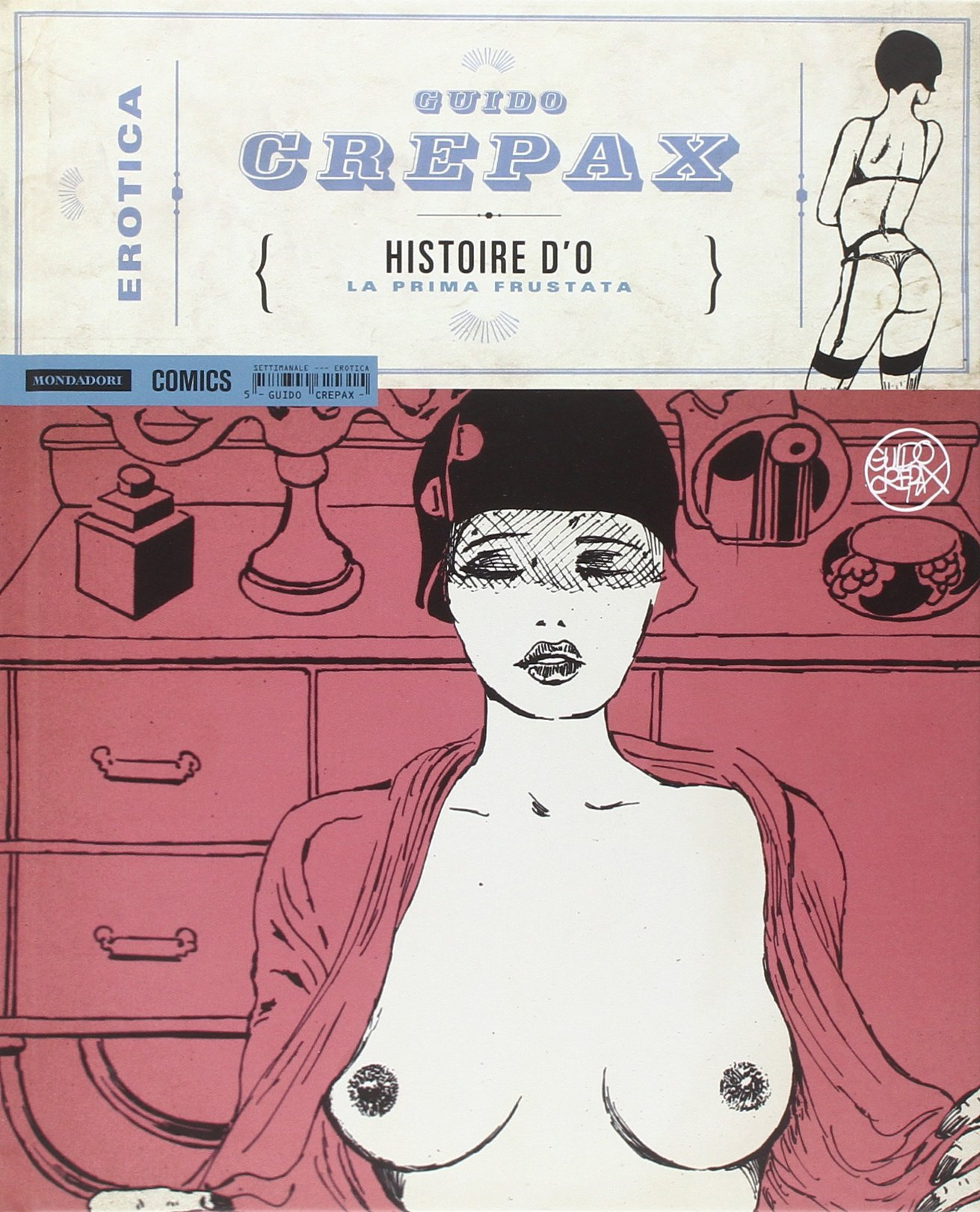Crepax Story of O cover