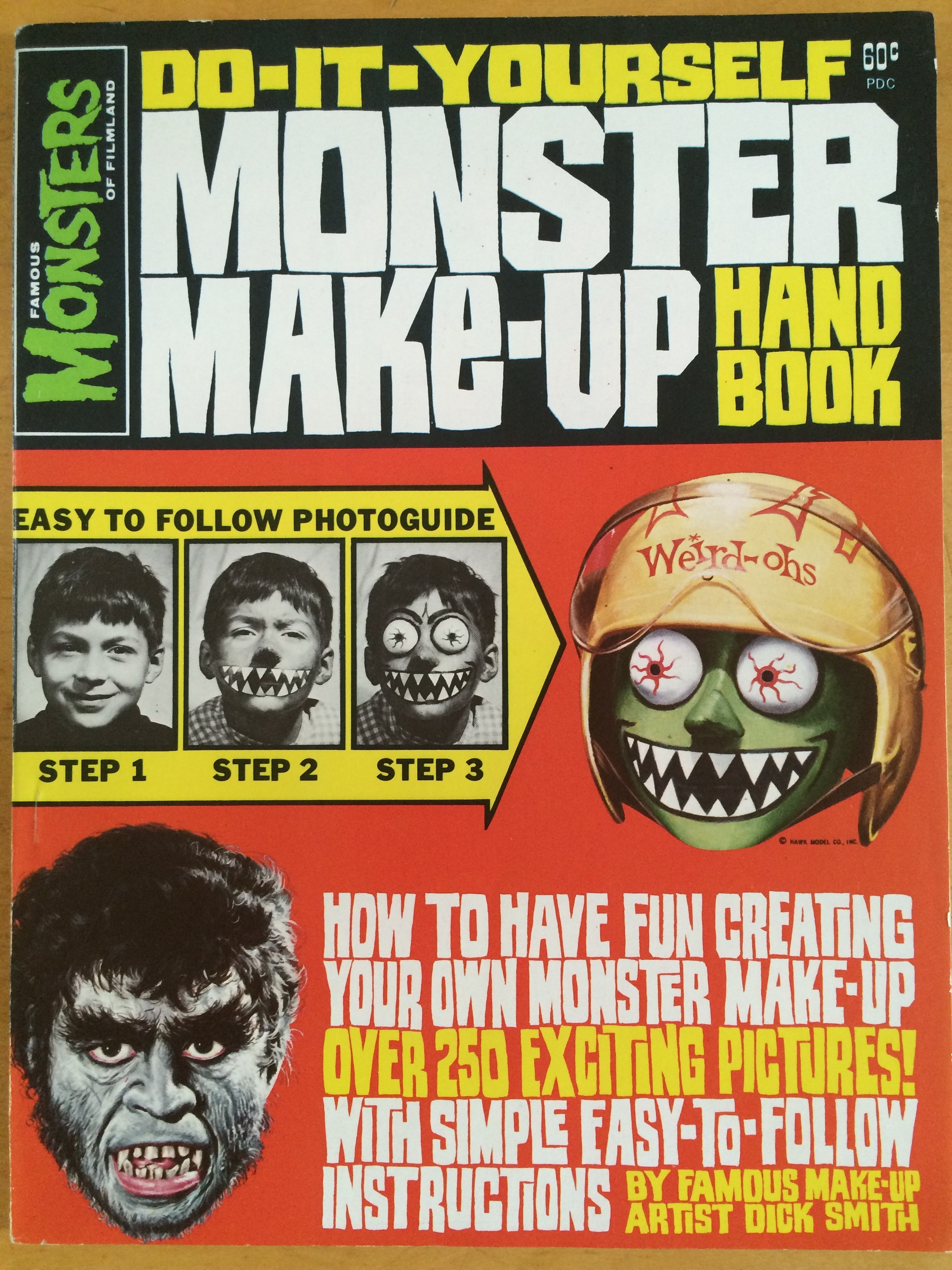 Do-It-Yourself Monster Make-Up Handbook by Dick Smith 1965-45