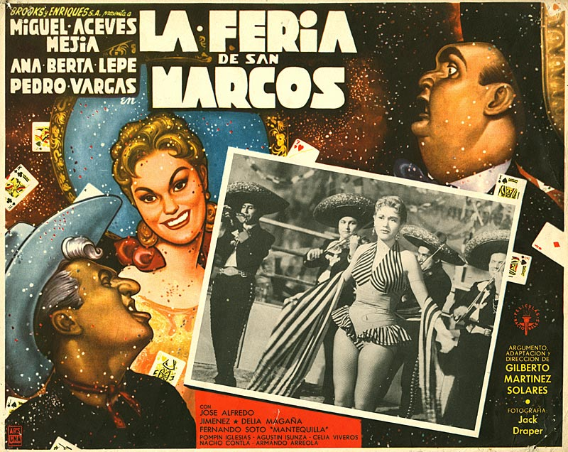 Ernesto Garcia Cabral lobby card a movie