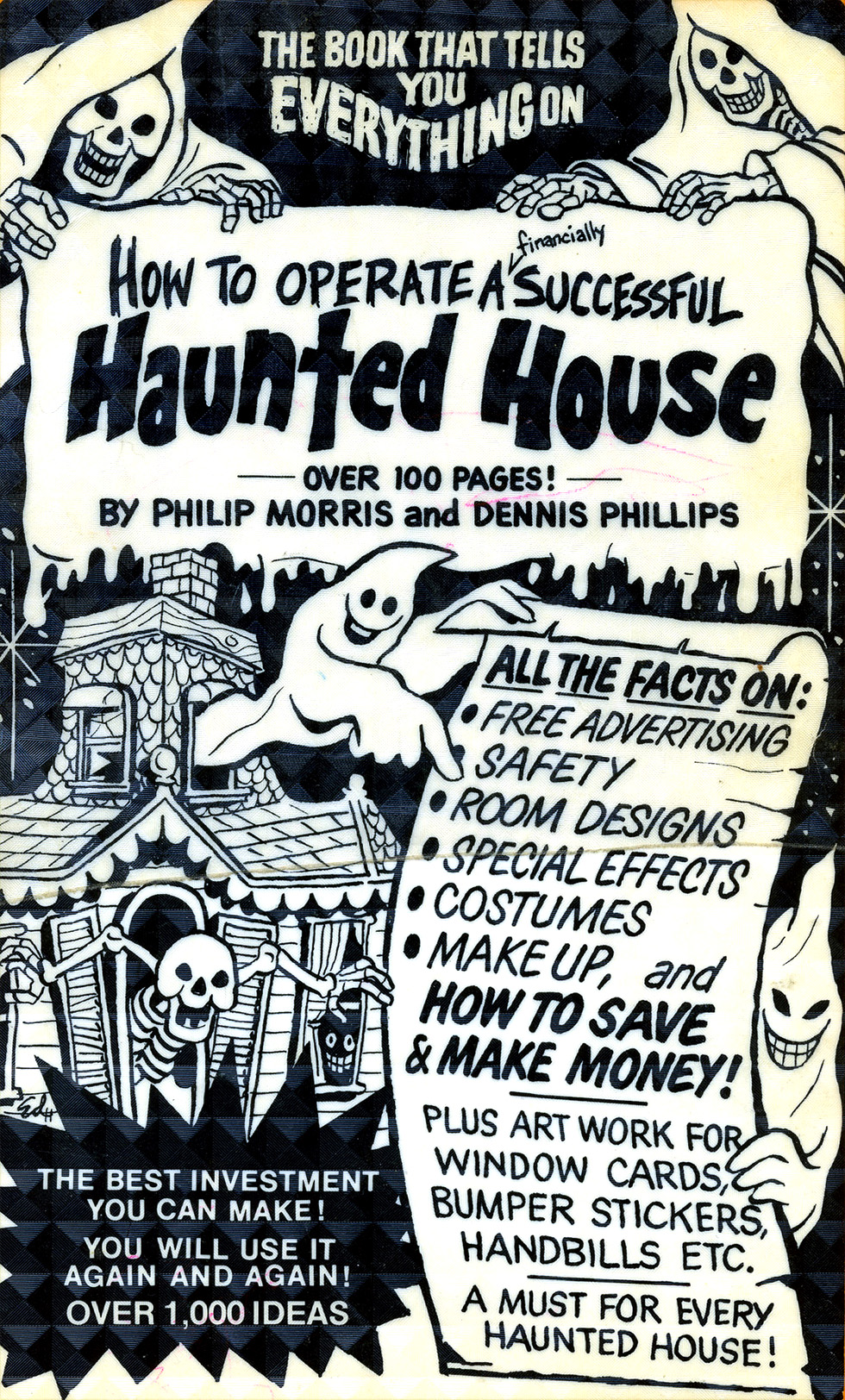 Operating A Haunted House A Vintage How To Guide Flashbak