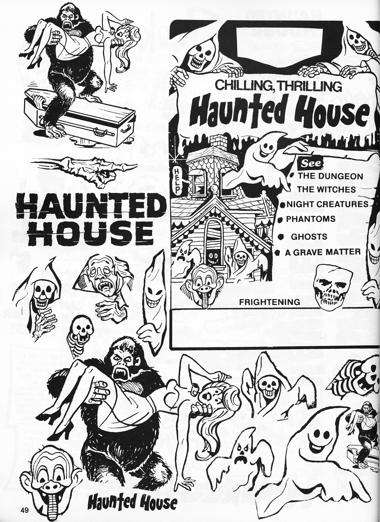 operating a haunted house a vintage how to guide flashbak 1920 Party Recipes file0050