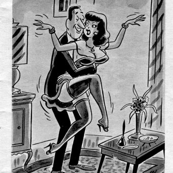 Men Misbehaving in Mid-Century Adult Magazine Cartoons