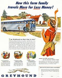 Greyhound Bus 1950