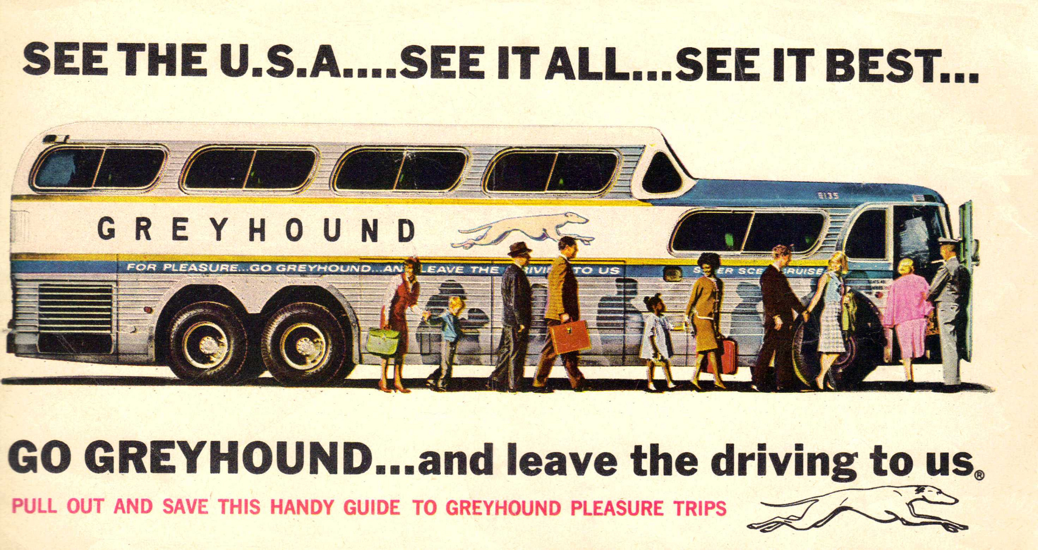 Greyhound Bus Ad - Flashbak
