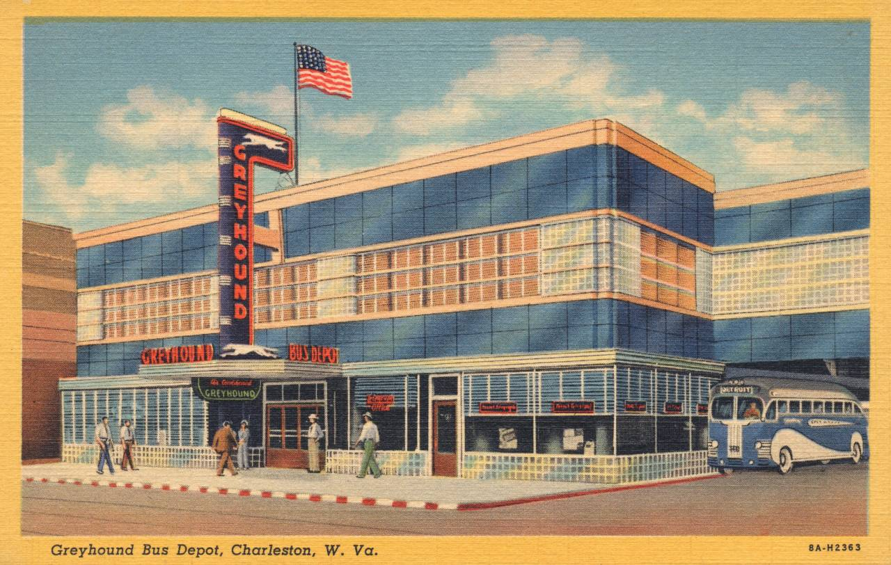 Greyhound Bus Depot - Charleston, West Virginia