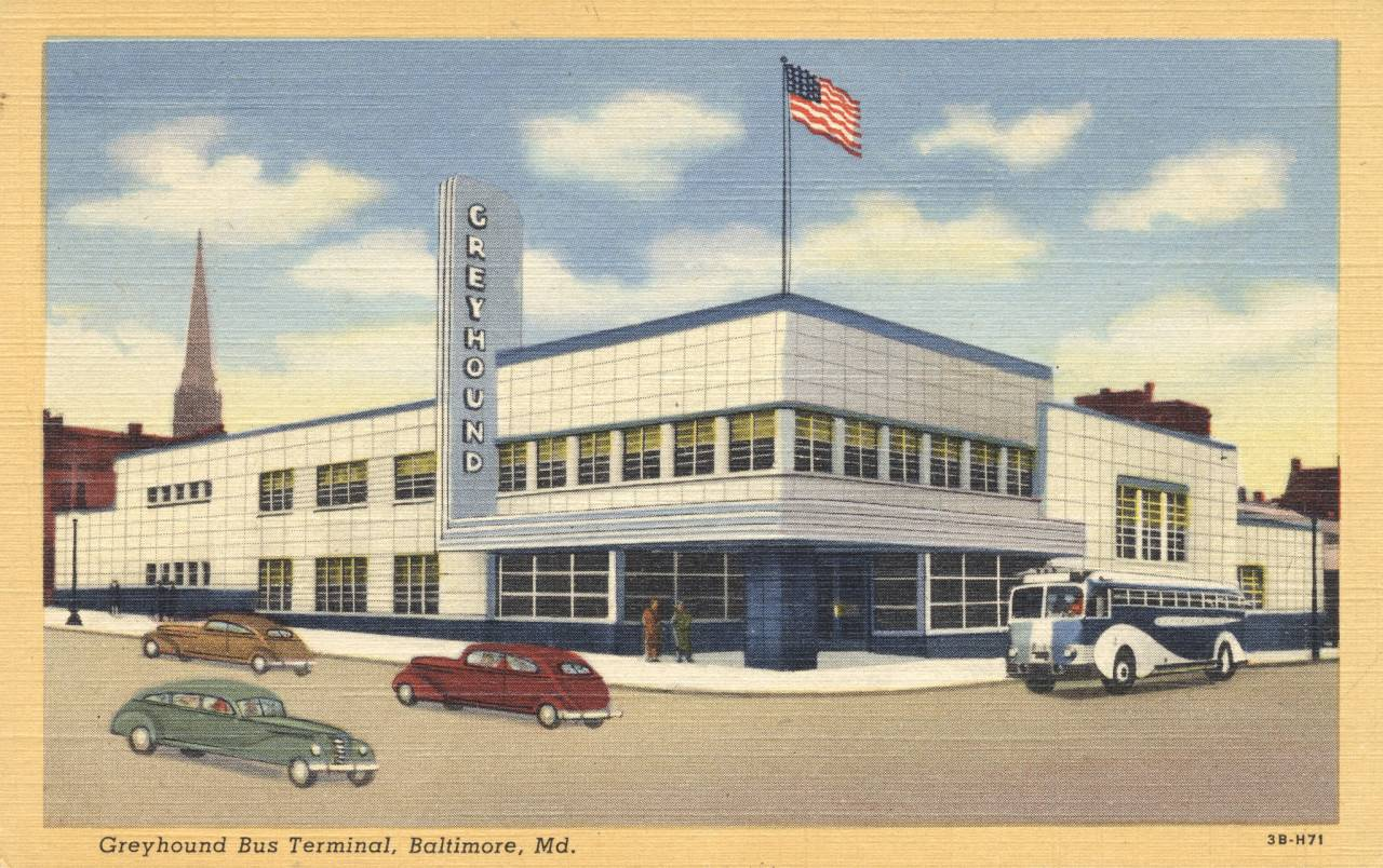 Greyhound Bus Terminal - Baltimore, Maryland
