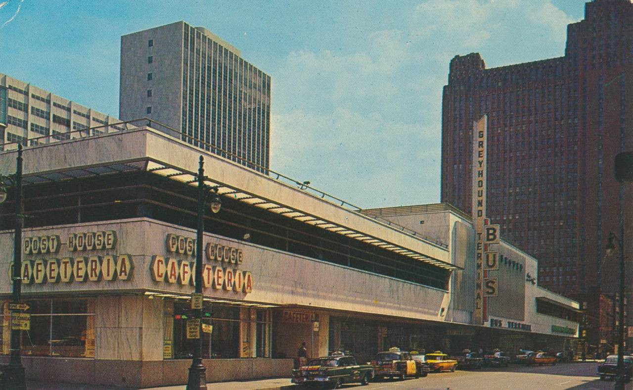 Greyhound Bus Terminal - Detroit, Michigan
