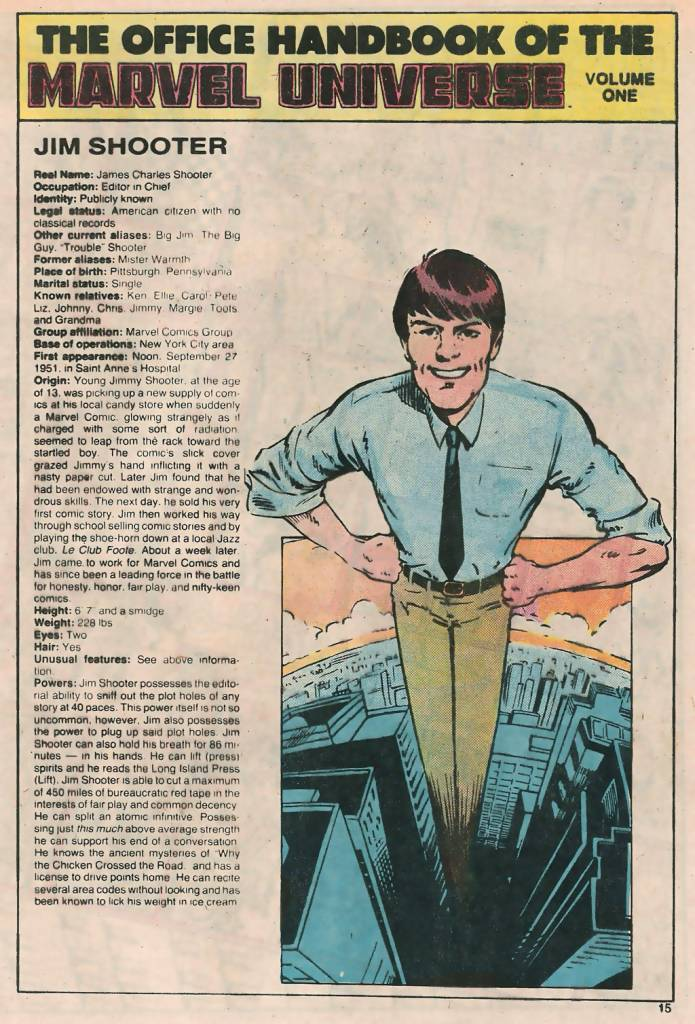 Jim Shooter Marvel