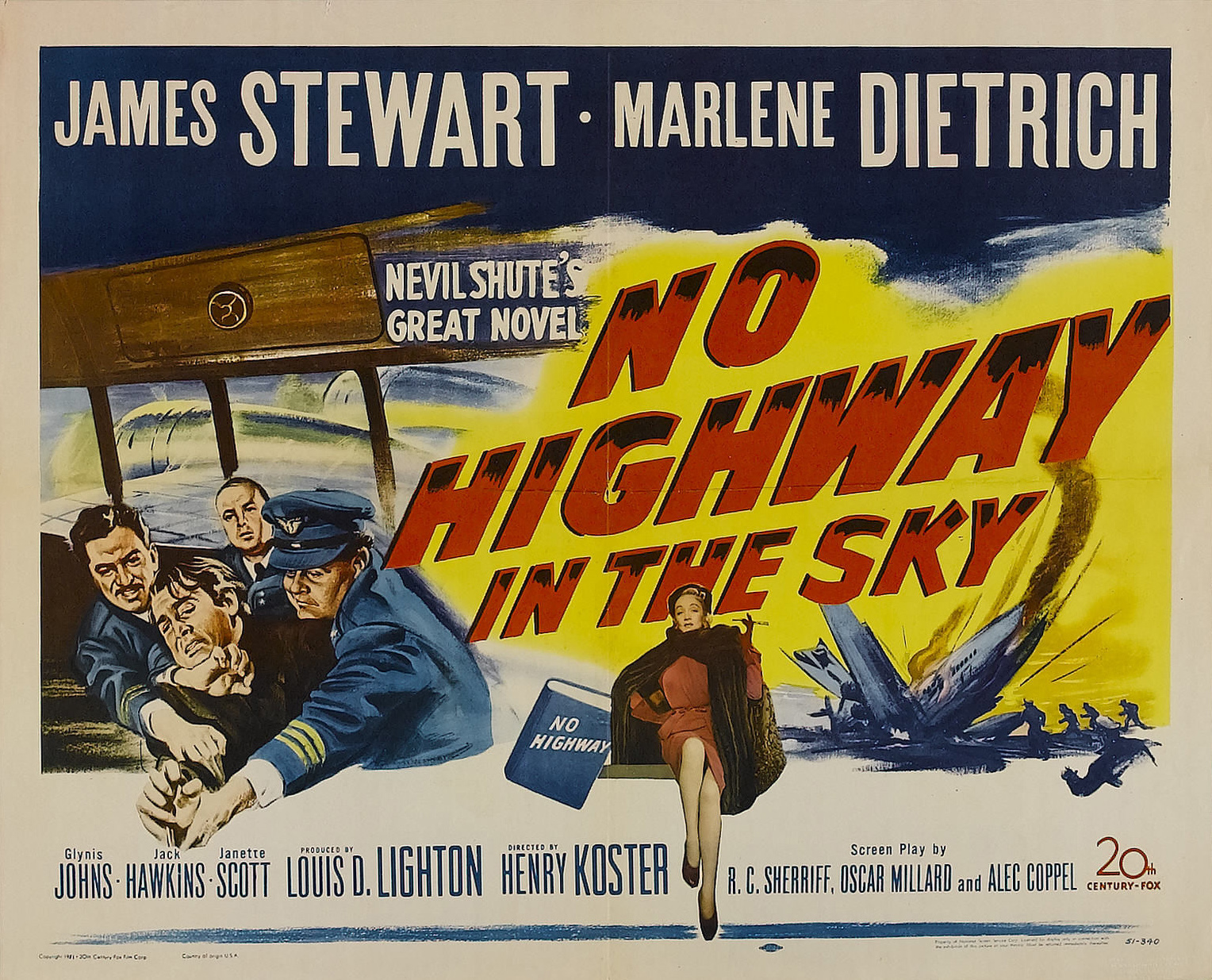 Marlene Dietrich No Highway in the sky