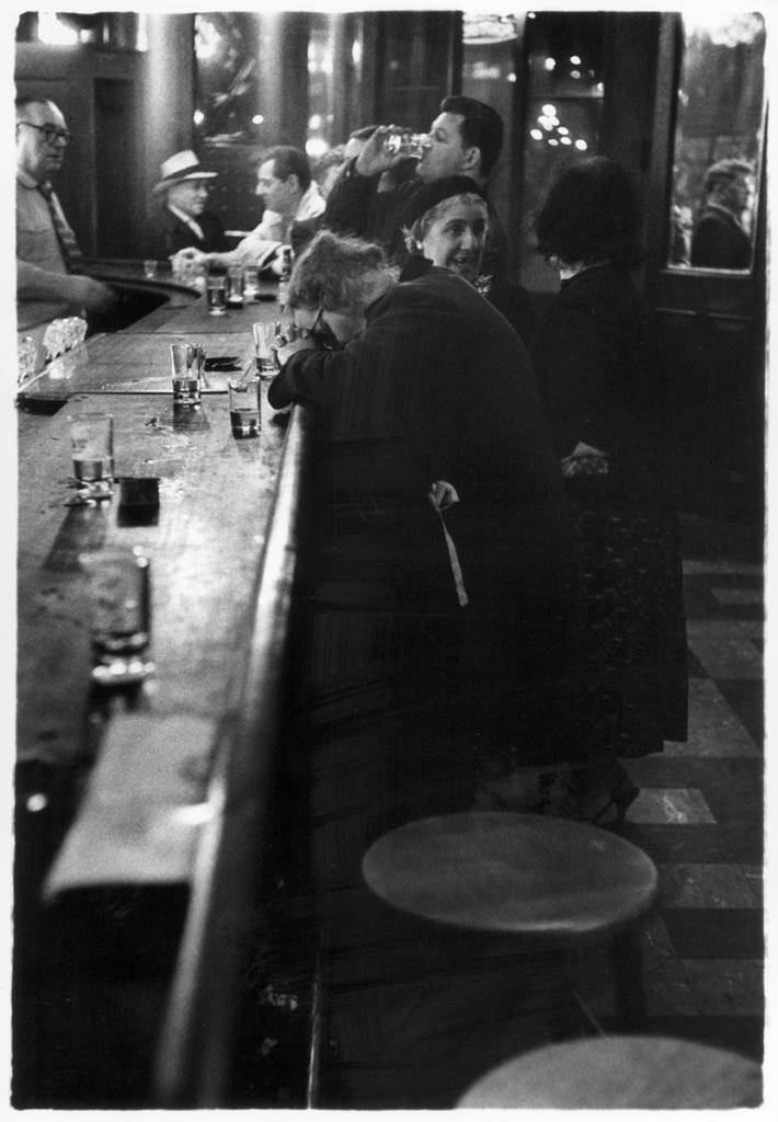 O'Rourke's Bar Brooklyn New York 1960
