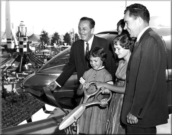 Richard Nixon In Disneyland (1955)
