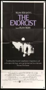 The Exorcist poster from 1972