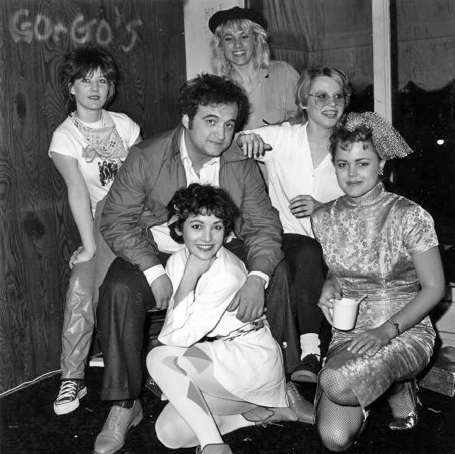 John Belushi and the Go Gos