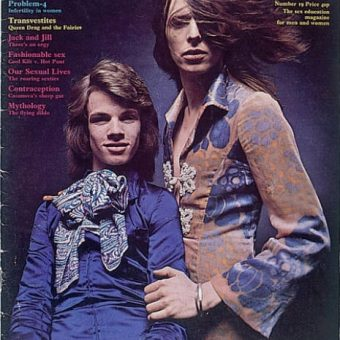 David Bowie Wears A Dress On The Cover Of 1970 Sex Magazine Curious