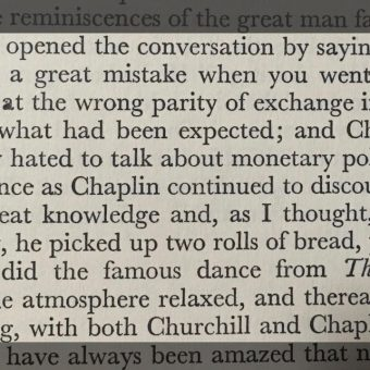 When Charlie Chaplin Roll Danced For Winston Churchill (1931)