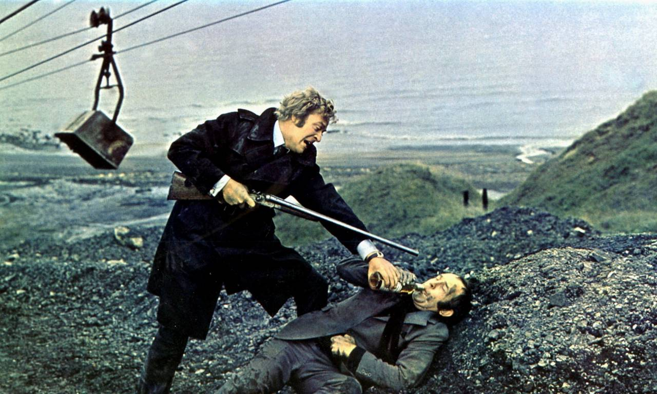 Wolfgang Suschitzky coal board, get carter, Michael Caine