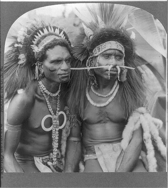Savage man-eaters of New Guinea