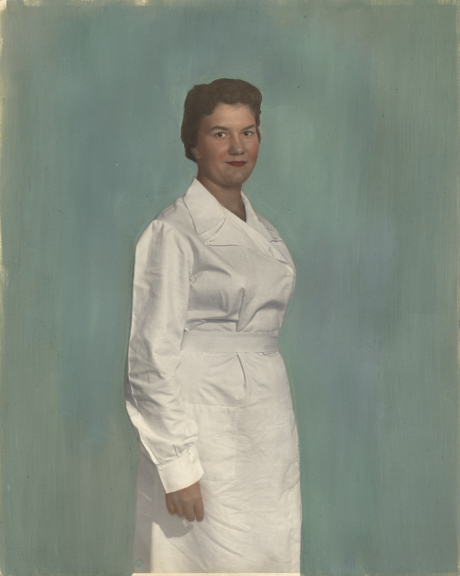 Nurse wearing uniform from Cape Colony