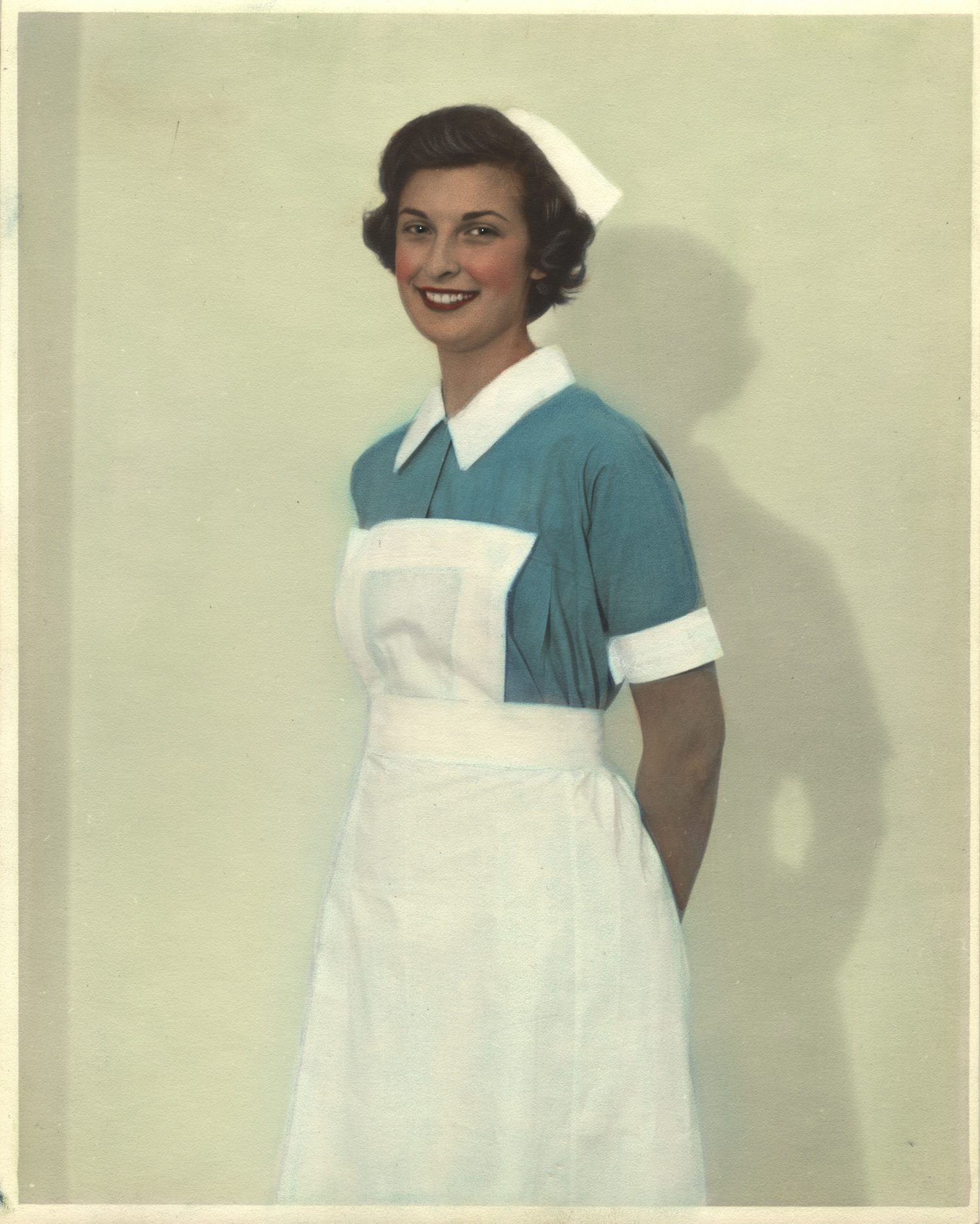 Nurse wearing uniform from Zanzibar