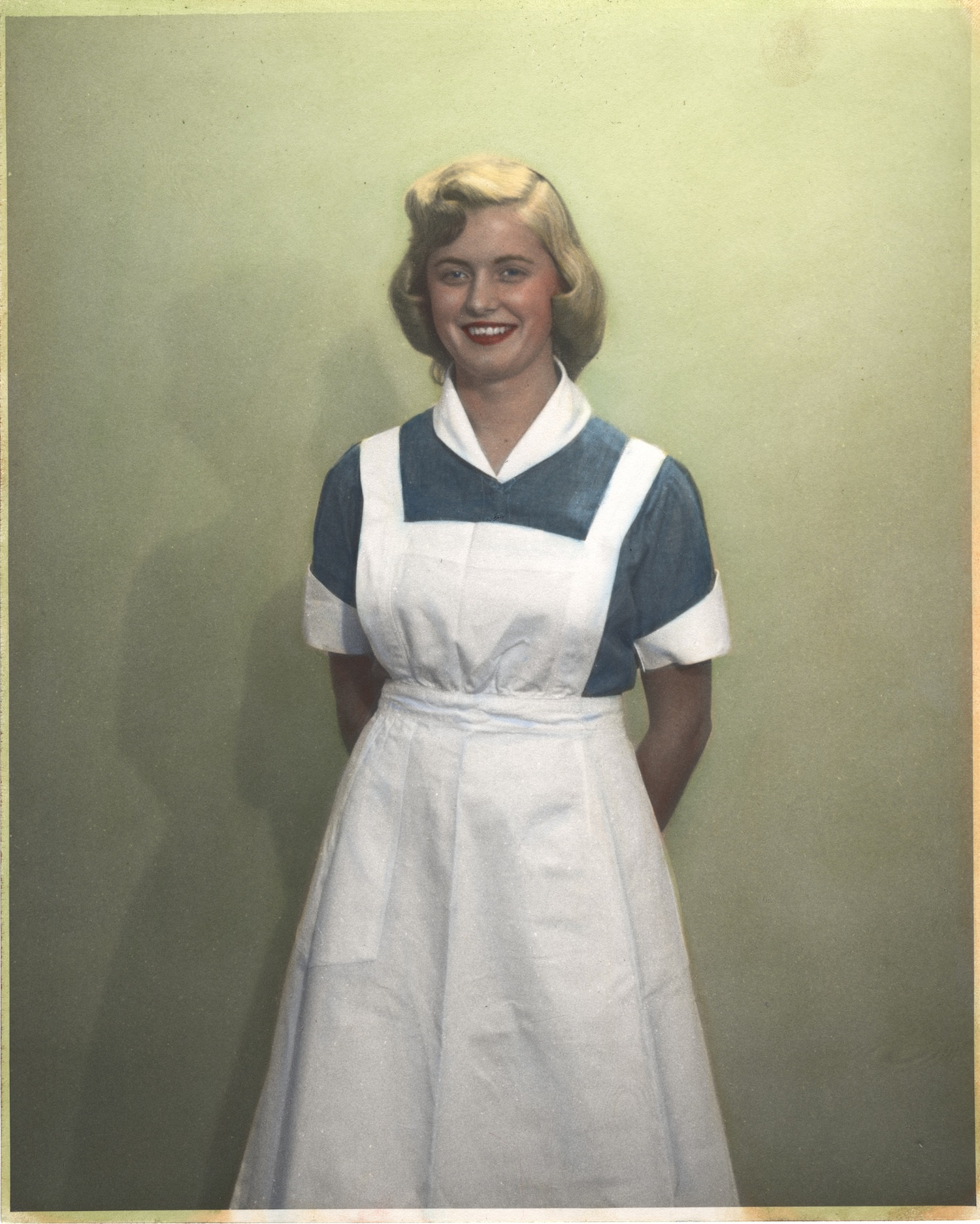 Nurse wearing uniform from Surinam