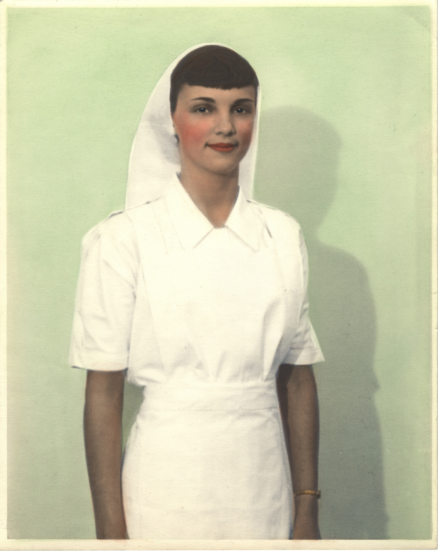 Nurse wearing uniform from Sudan
