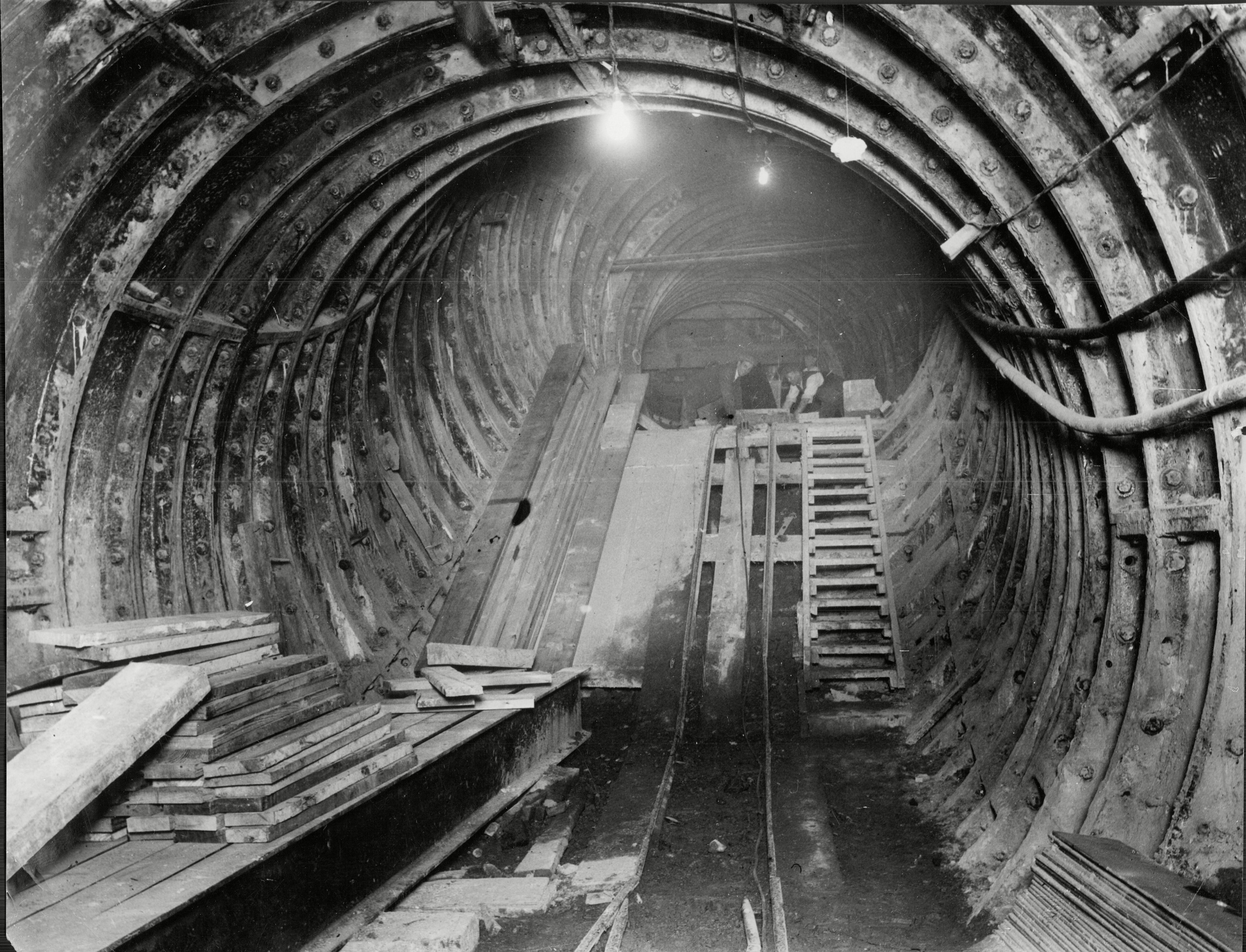 The Re-building Of Piccadilly Circus Underground Station. The Re-building Of Piccadilly Circus Underground Station. 1926