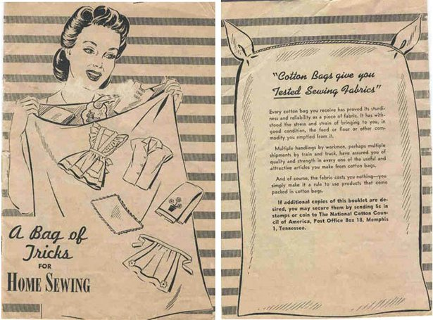 Feed Sack Fashions And Patterns Of Depression Era America