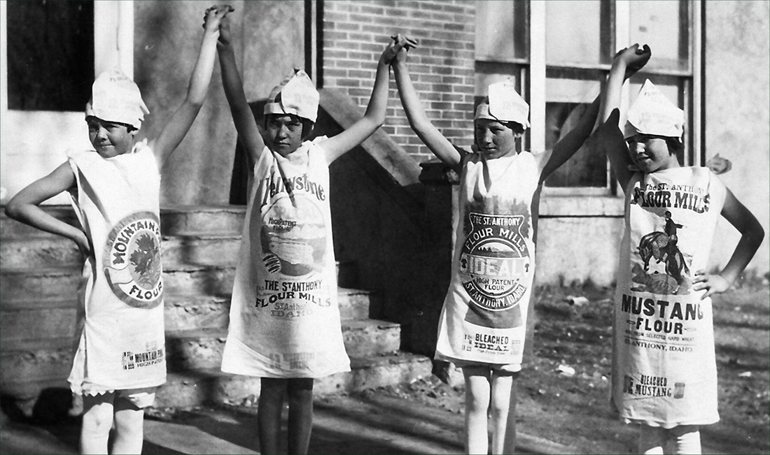 sack dresses depression 1930s