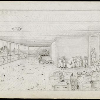 Prisoners' Drawings From Japanese Camps in The Occupied Dutch East Indies (1942-1945)
