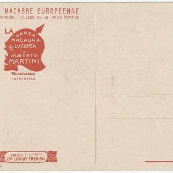 Danza Macabra Europea: Alberto Martini's Depraved World War Postcards
