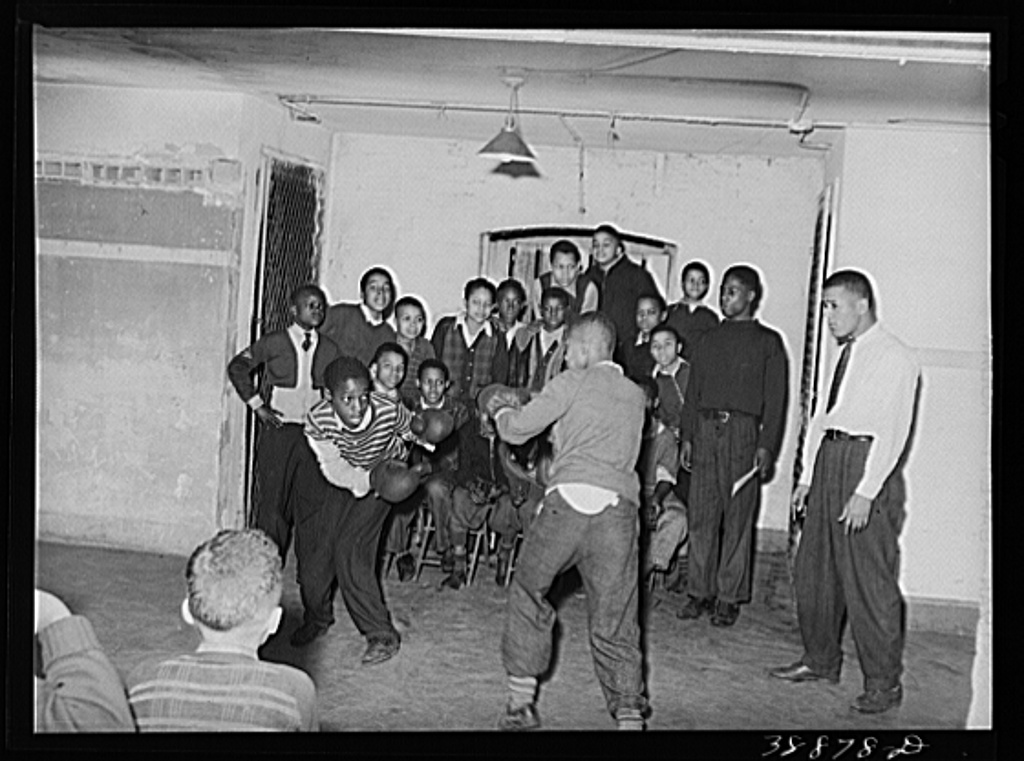 boxing April 1941 Southside Chicago