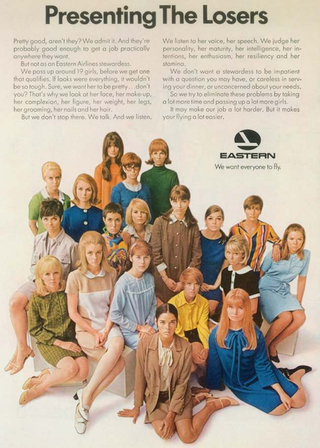 Eastern Airlines ad 70s