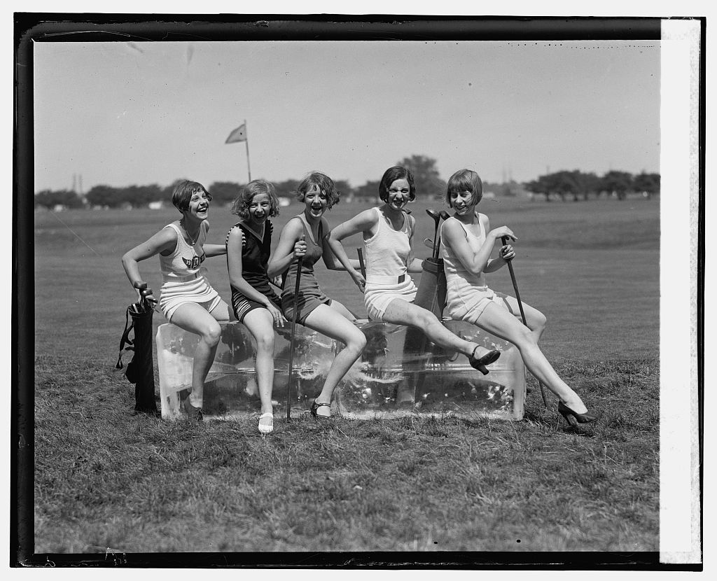 Golf bathing suits 1926