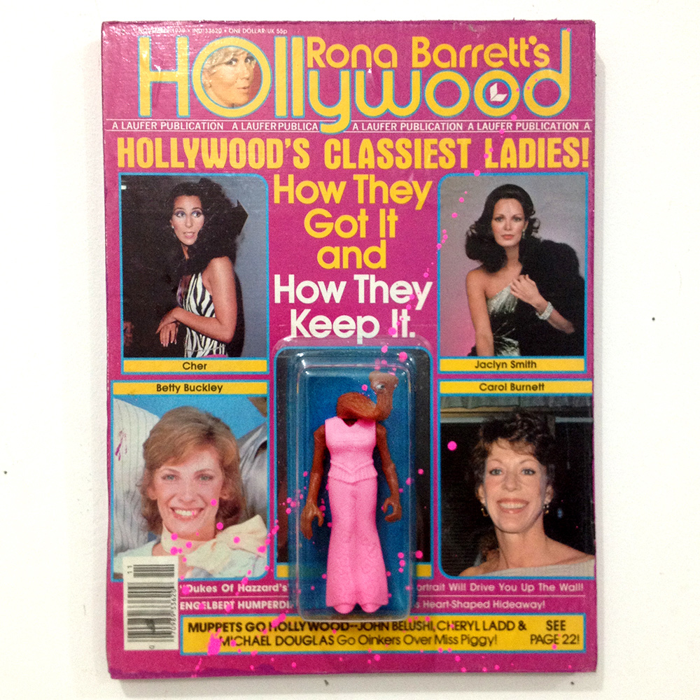 Hollywood magazine action figure