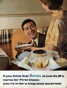 KLM airline, you're in for a king size surprise, January 1967