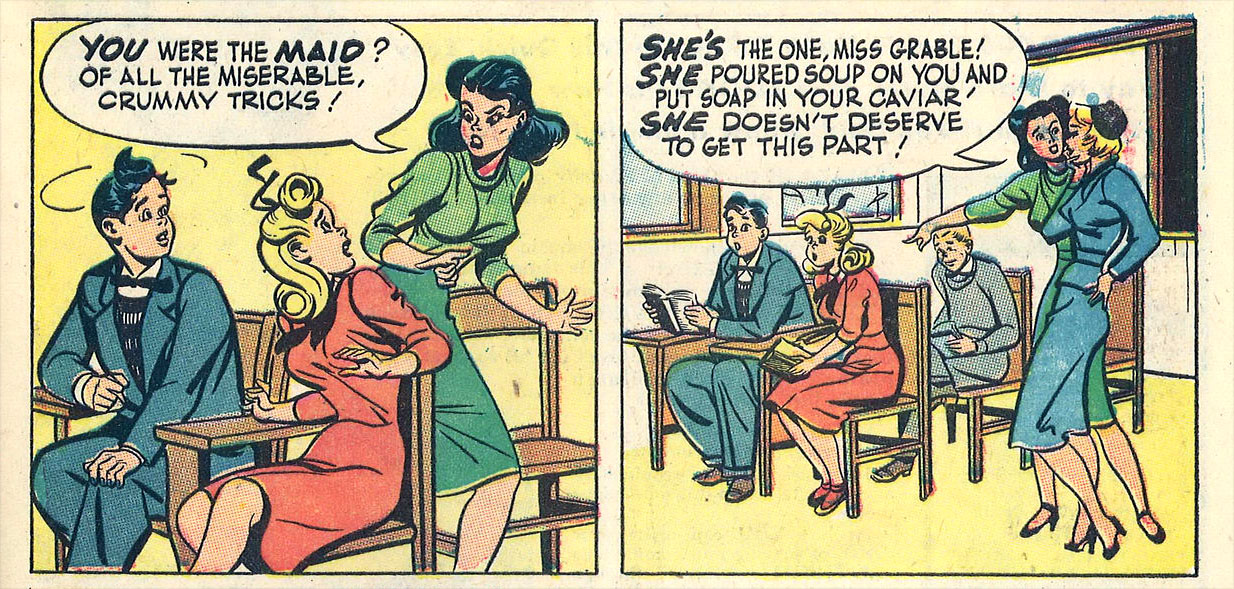 10 Long Forgotten Mid Century Girl Comics Flashbak