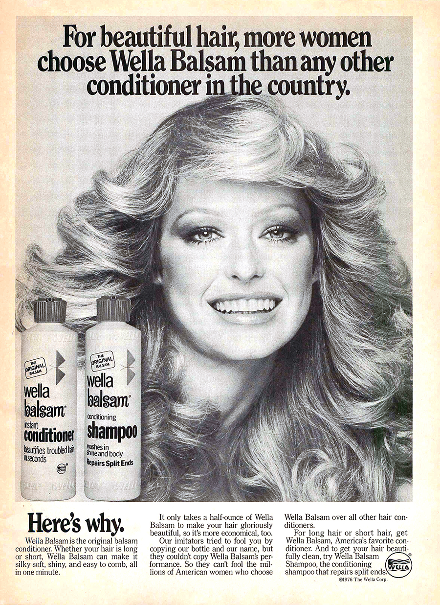 Frosted Sprayed And Feathered 20 Hair Product Ads From The 1970s