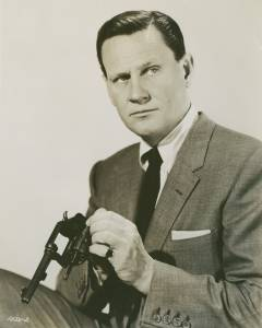 Portrait of Wendell Corey for Rear window directed by Alfred Hitchcock, 1954
