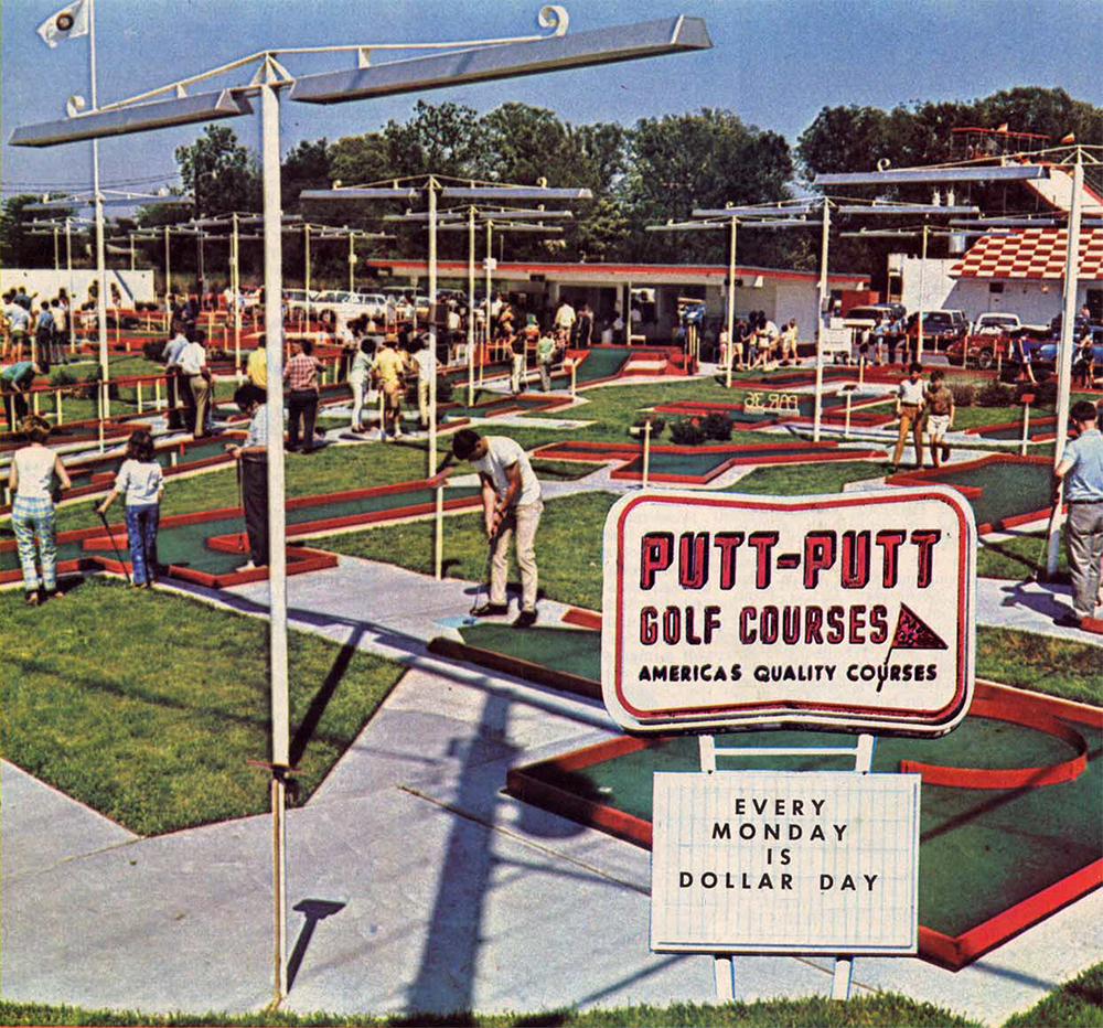 Our Putt Putt Past The Golden Days Of Miniature Golf