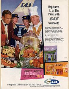 SAS Happiness on the menu with SAS worldwide, date unknown
