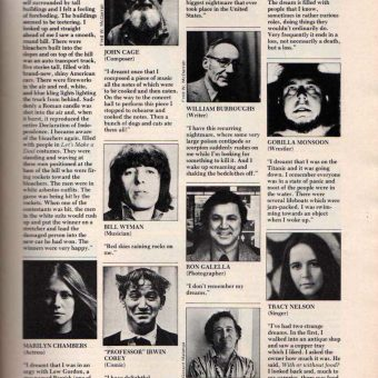 """What's Your Worst Nightmare?"" Screw Magazine Interviews The Rich And Famous (1979)"