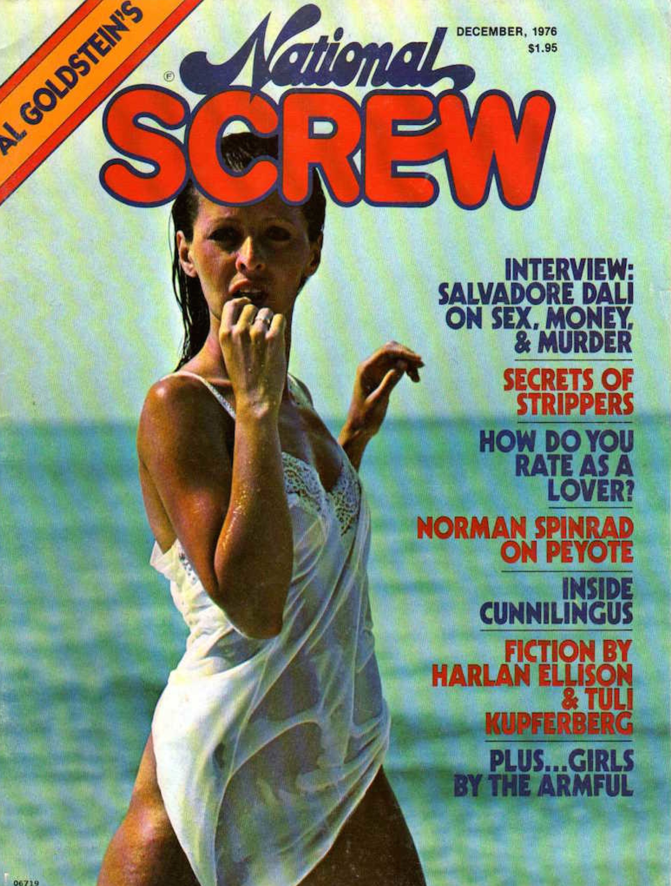 Screw interviews cover 1976