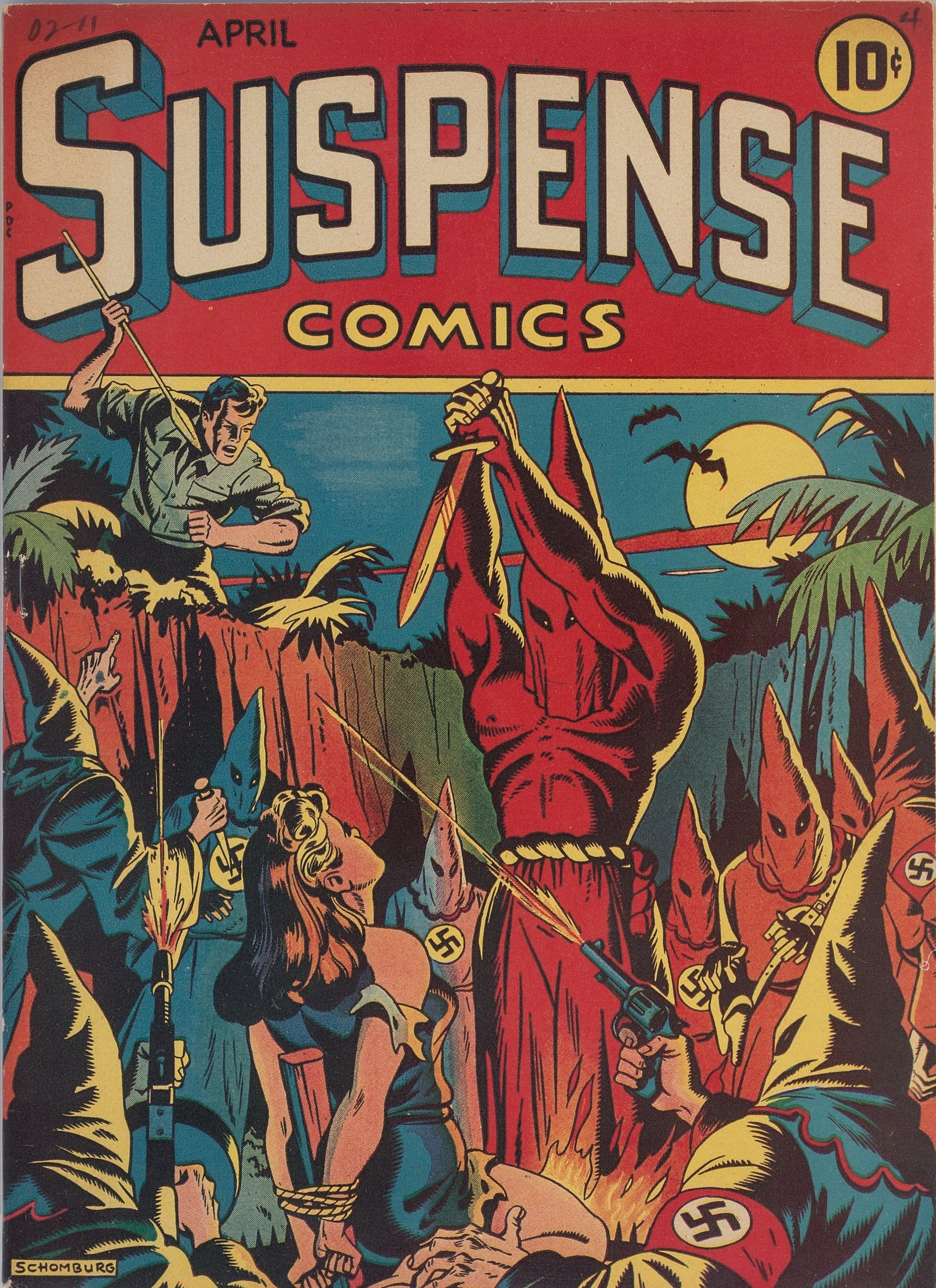 Suspense Comics #3 from 1944