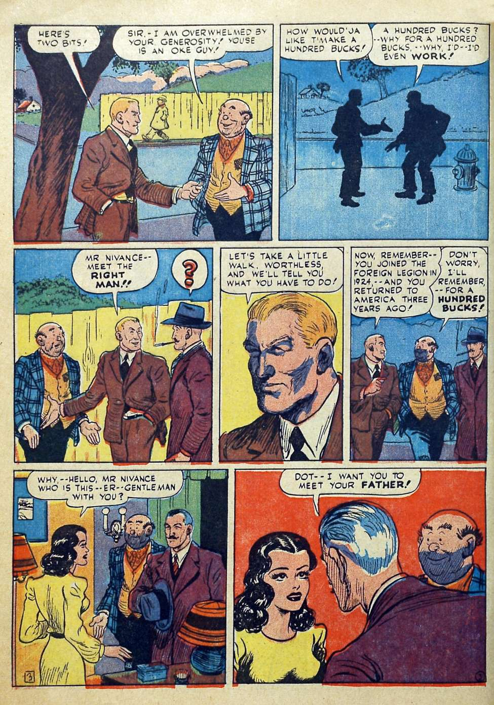 Suspense Comics #3 from 1944 11