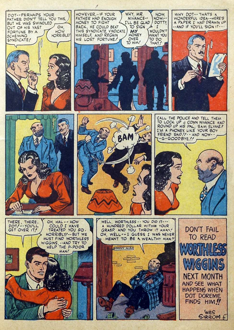 Suspense Comics #3 from 1944 15