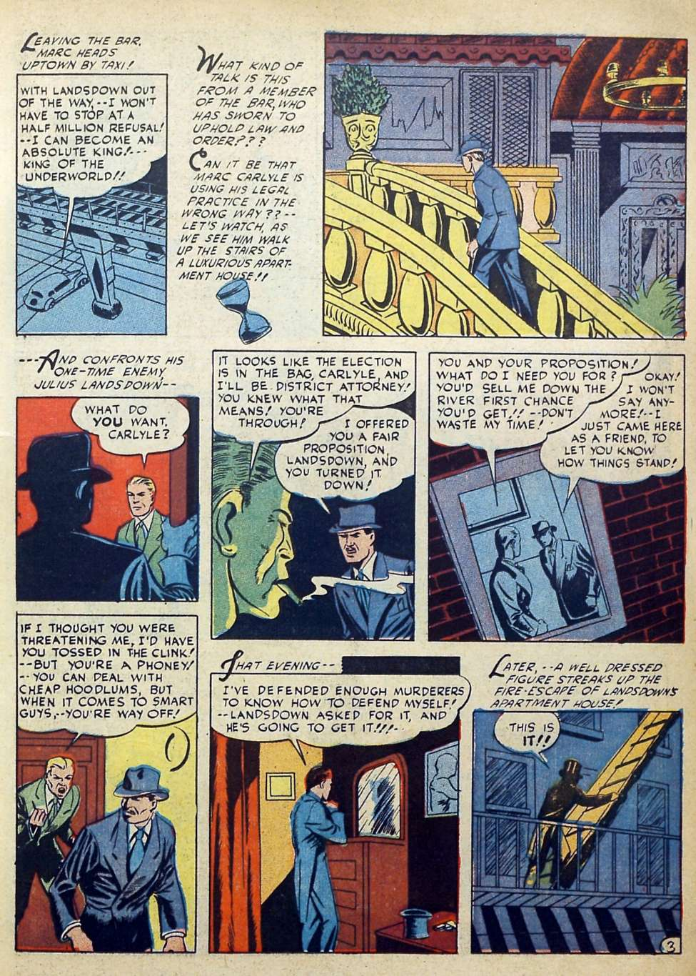 Suspense Comics #3 from 1944 19